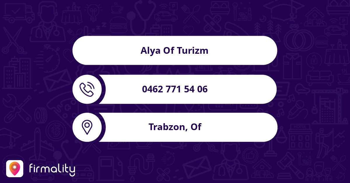 Alya Of Turizm