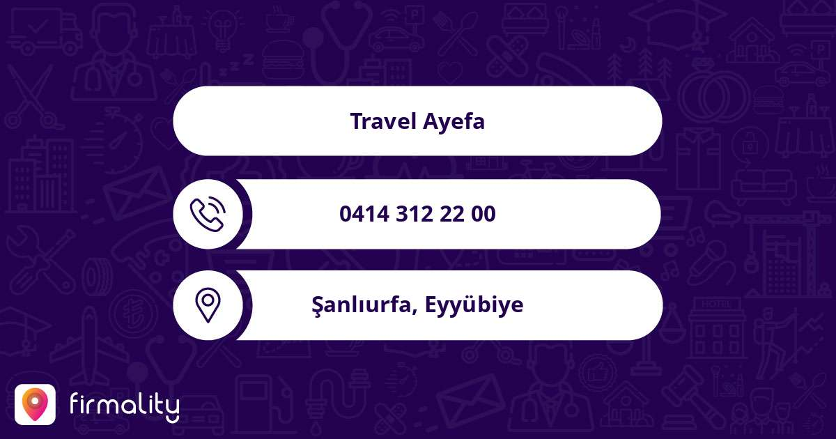 Travel Ayefa